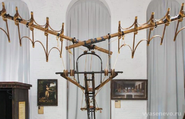 Выставка посвященная Леонардо Да Винчи в ЮЗАО