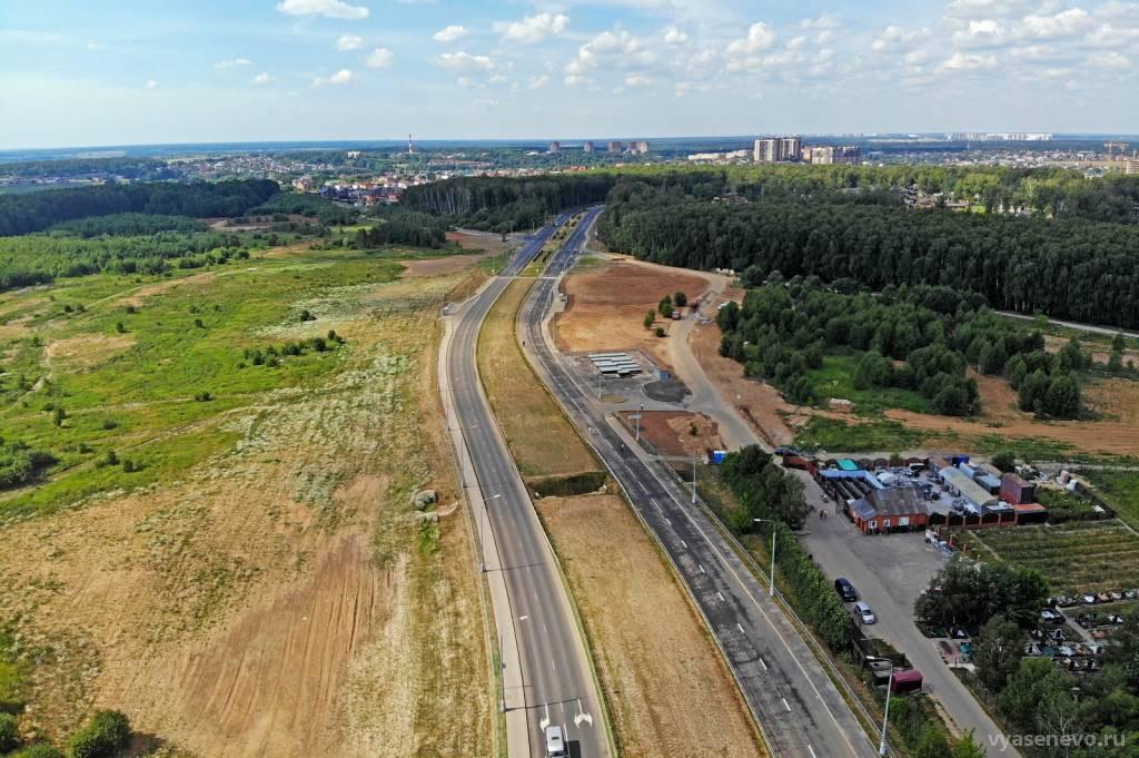 29 июня в Москве открыли движение по новой автомобильной дороге от Киевского шоссе до района Южное Бутово