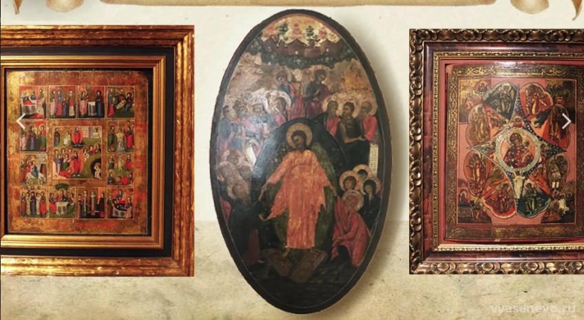 Иконы эпохи Николая II покажут на выставке в Центральном музее древнерусской культуры и искусства им. Андрея Рублева