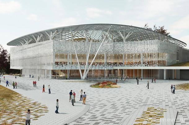 В сентябре начнет работу концертный зал «Зарядье»