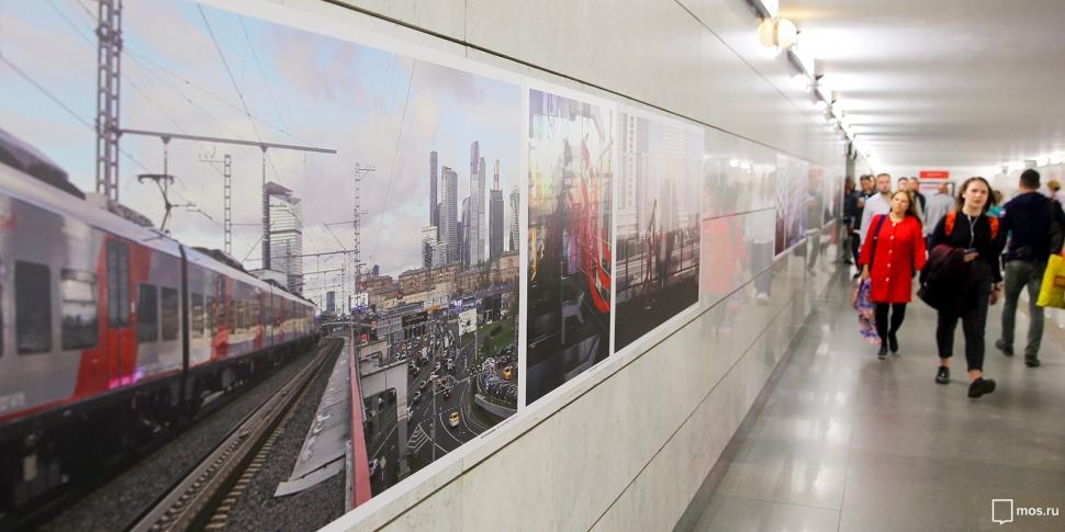 В ЮЗАО можно увидеть фотовыставку к Дню рождения МЦК