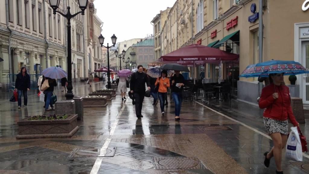 Дождливая погода вернется в Москву уже завтра