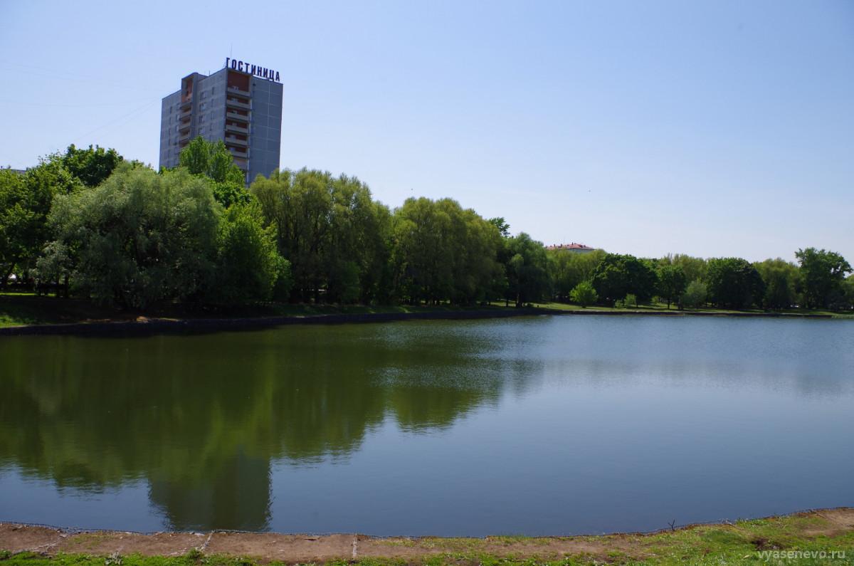 На пруду «Садки» завершились восстановительные работы