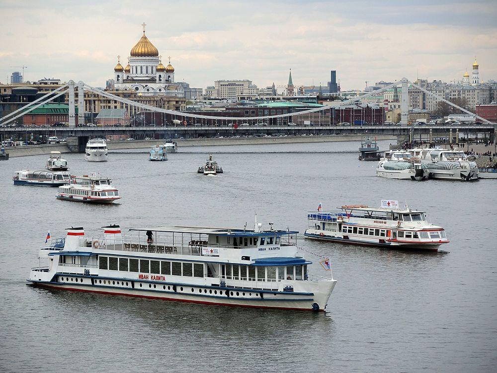 В столице открылась летняя пассажирская навигация