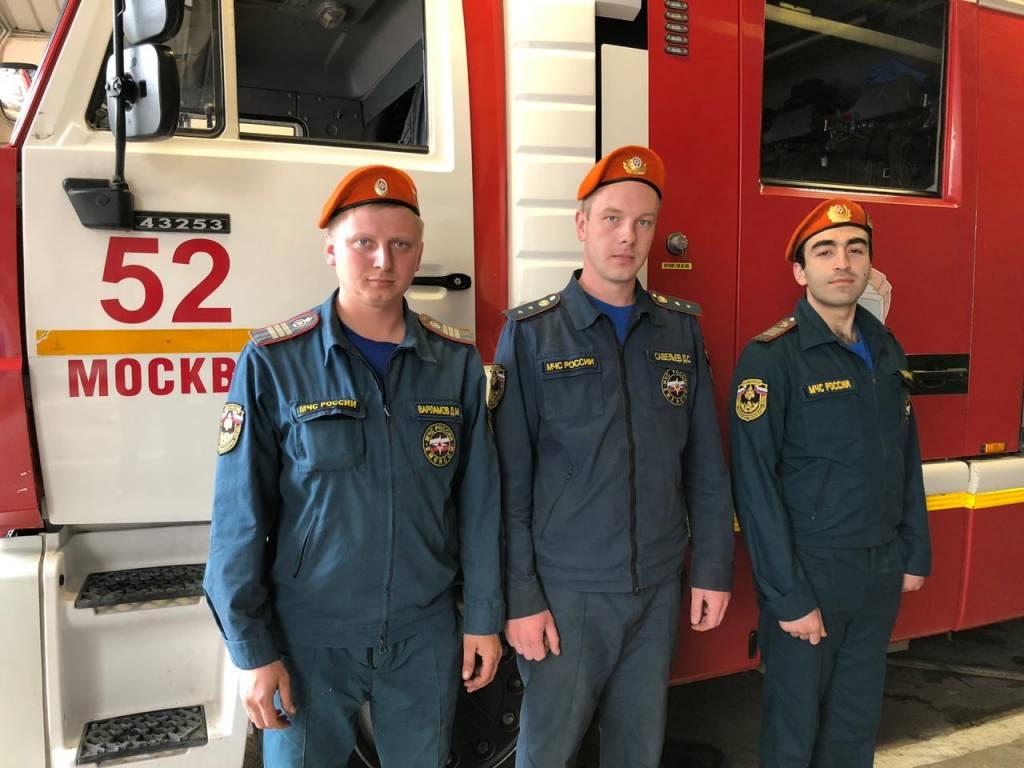 На улице Айвазовского был потушен пожар и спасены 5 человек