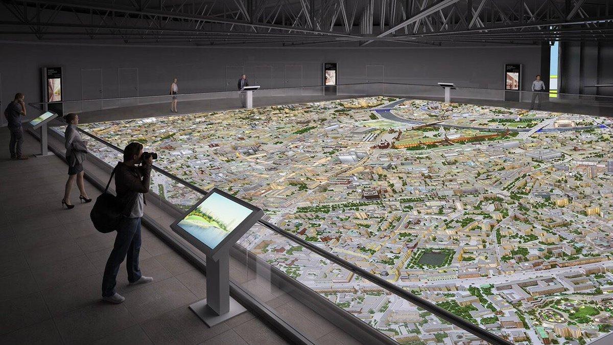Павильон «Макет Москвы» на ВДНХ с момента его открытия посетили более 500 тысяч человек