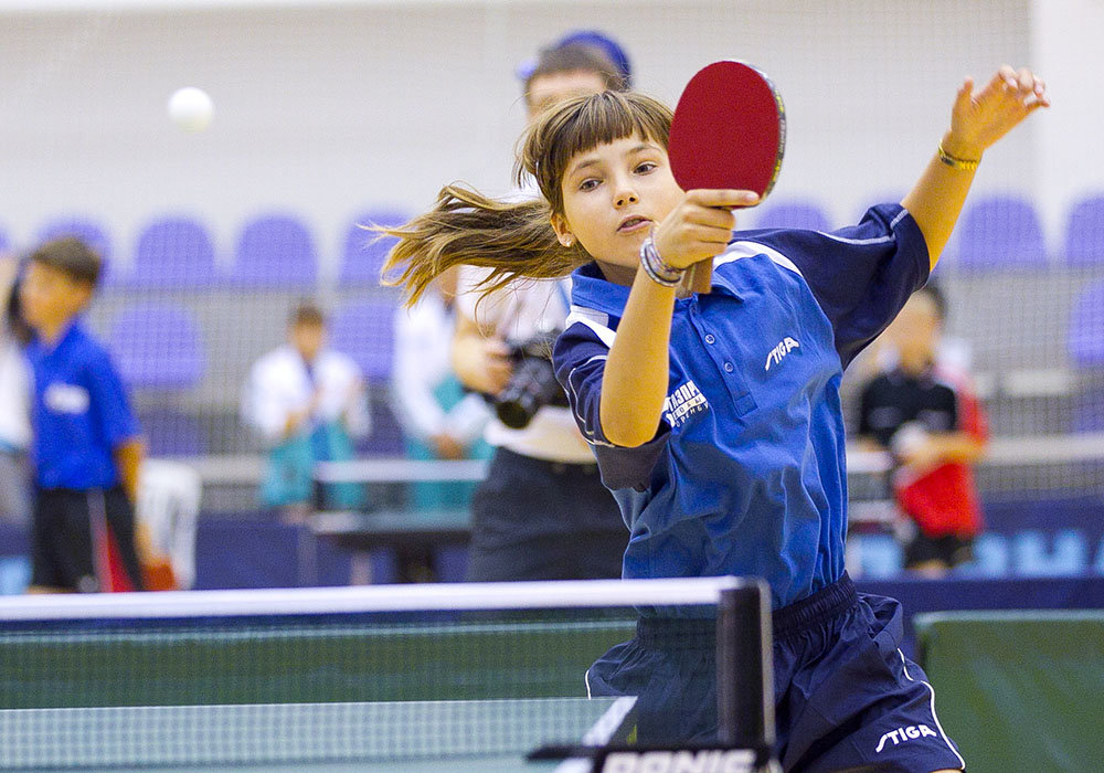 Команда Ясенева заняла второе место в соревнованиях по настольному теннису