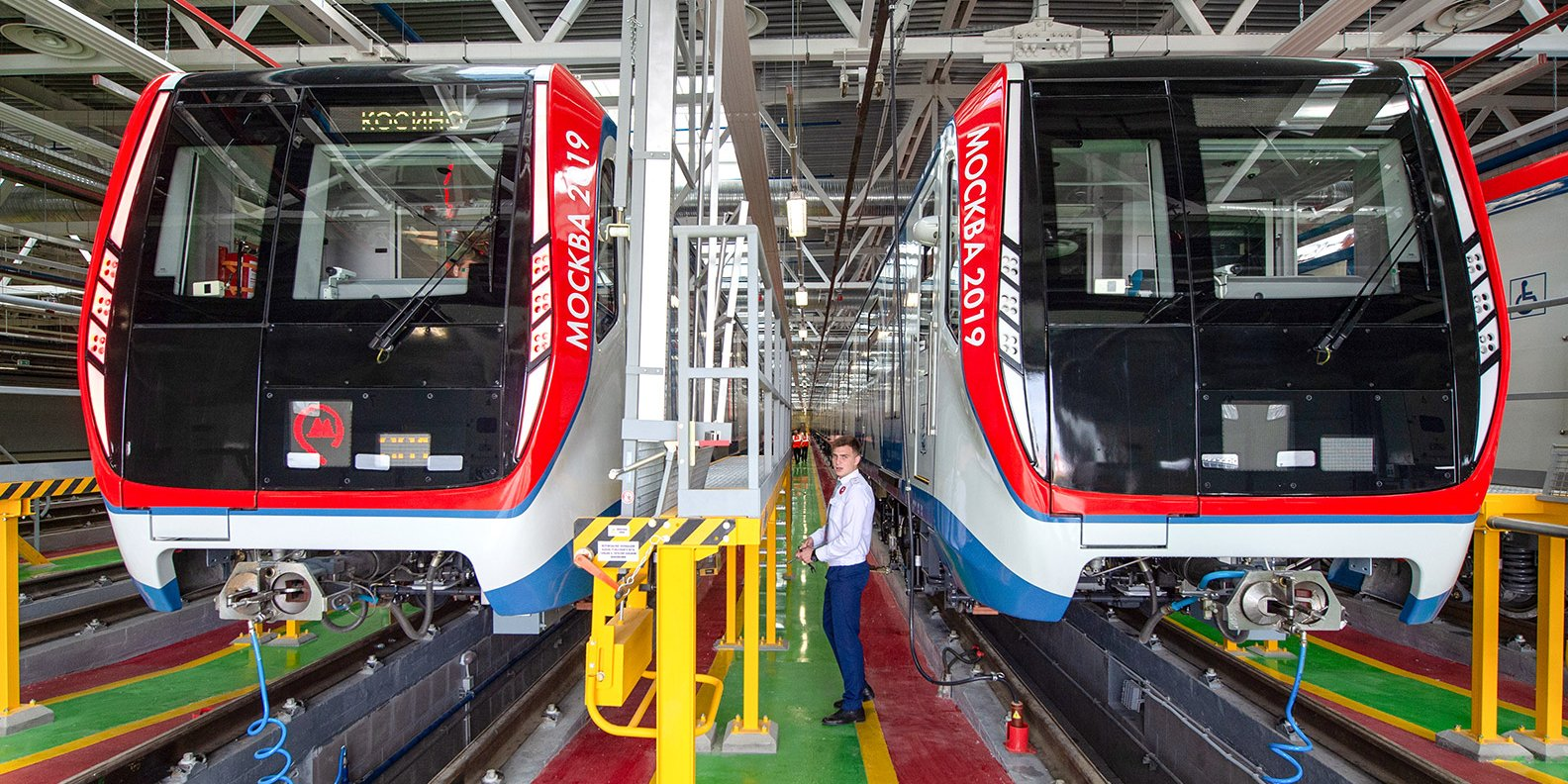 К концу года в столичном метро увеличится количество поездов «Москва»