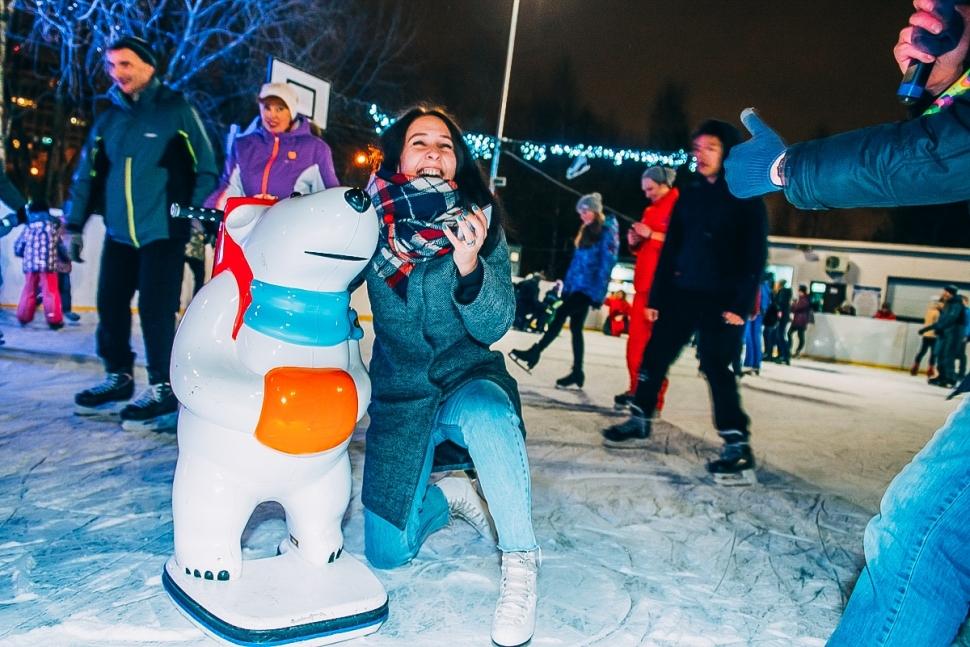 Воронцовский парк устроит музыкальный вечер на катке