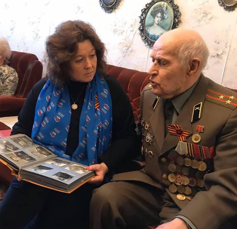 Ветеранов Великой Отечественной войны района наградили юбилейными медалями