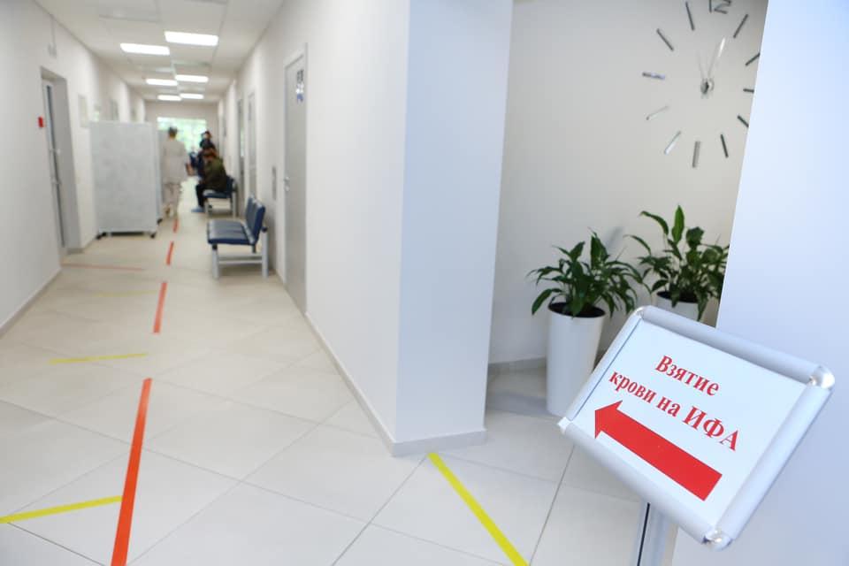 Пациенты Городской поликлиники № 134 смогут сдать тесты на иммунитет к коронавирусу в филиале № 2 ДКЦ № 1