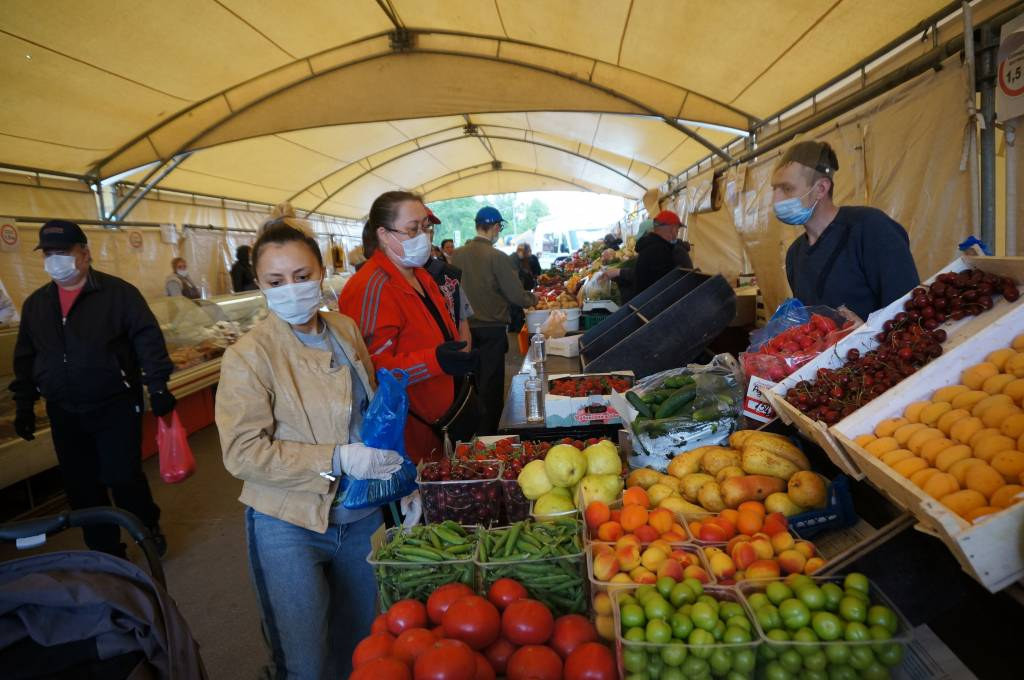 Ярмарка выходного дня открылась в районе Ясенево